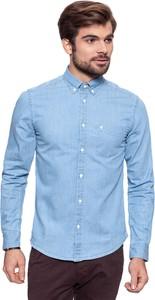 Koszula Wrangler z długim rękawem w street stylu z jeansu