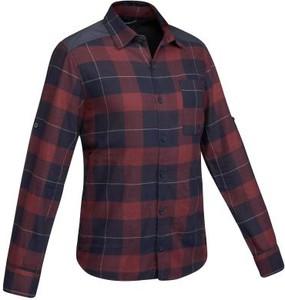 Koszula Forclaz z długim rękawem z klasycznym kołnierzykiem