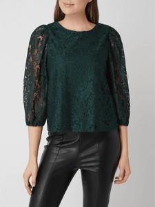 Zielona bluzka Vero Moda z długim rękawem