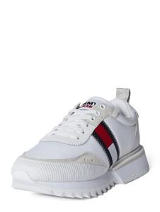 Buty sportowe Tommy Jeans w sportowym stylu sznurowane z płaską podeszwą