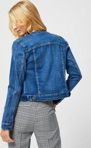 Niebieska kurtka Moodo z jeansu