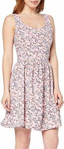 Sukienka amazon.de rozkloszowana z okrągłym dekoltem