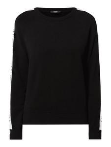 Czarna bluza Liu-Jo krótka w stylu casual