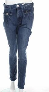 Niebieskie jeansy S.Oliver w street stylu