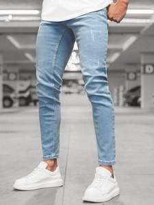 Niebieskie jeansy ozonee.pl