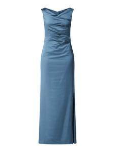 Sukienka Vera Mont bez rękawów maxi z dekoltem w kształcie litery v