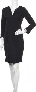 Sukienka Armani Exchange z dekoltem w kształcie litery v mini z długim rękawem