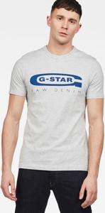 T-shirt G-Star Raw w młodzieżowym stylu z dzianiny