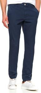 Granatowe spodnie Top Secret