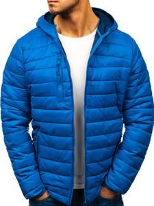 Niebieska kurtka Denley w stylu casual