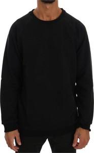 Czarny sweter Daniele Alessandrini z bawełny