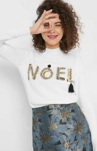 Sweter ORSAY z dzianiny w stylu glamour