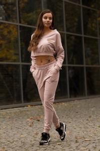 Różowe spodnie MERRIBEL
