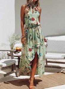 Sukienka Cikelly bez rękawów maxi