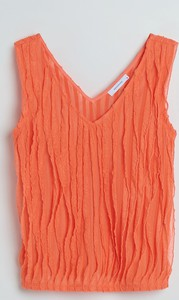 Pomarańczowa bluzka Reserved