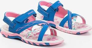 Buty dziecięce letnie Royalfashion.pl na rzepy dla dziewczynek