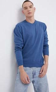 Sweter Cross Jeans z okrągłym dekoltem w stylu casual