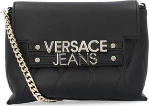 Czarna torebka Versace Jeans na ramię