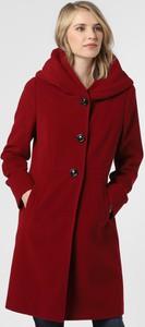 Czerwony płaszcz Gil Bret z wełny