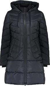 Czarny płaszcz Taifun w stylu casual