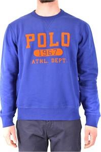 Niebieska bluza POLO RALPH LAUREN w młodzieżowym stylu