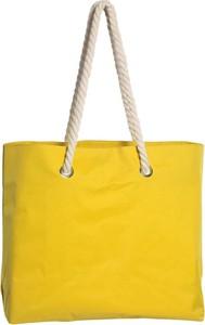 Żółta torebka Kemer w wakacyjnym stylu duża