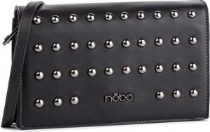 Czarna torebka NOBO z aplikacjami na ramię
