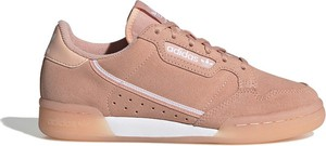 Buty sportowe Adidas Originals z zamszu z płaską podeszwą