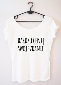 T-shirt Time For Fashion w młodzieżowym stylu z krótkim rękawem