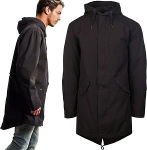 Czarna kurtka Glo-Story z bawełny