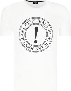T-shirt Joop! Jeans w młodzieżowym stylu z krótkim rękawem