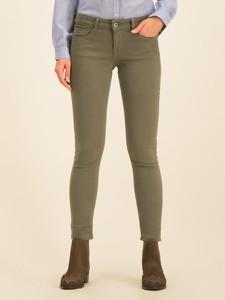 Zielone jeansy Pepe Jeans w street stylu