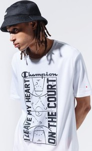 T-shirt Champion w sportowym stylu z nadrukiem