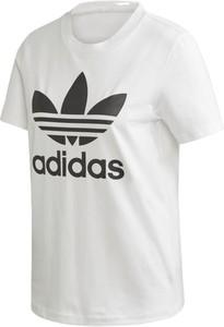 Bluzka Adidas z okrągłym dekoltem z krótkim rękawem