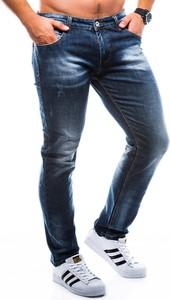 Niebieskie jeansy Ombre Clothing