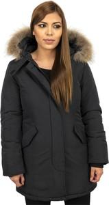 Czarny płaszcz Thebrand w stylu casual