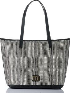 Czarna torebka Monnari w wakacyjnym stylu duża