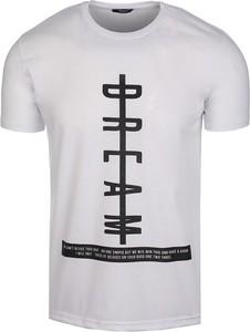 T-shirt Neidio z jeansu w street stylu z nadrukiem