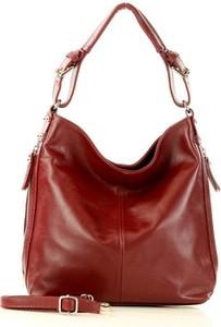 Czerwona torebka Merg na ramię