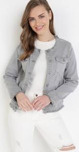 Kurtka born2be z jeansu krótka w stylu casual