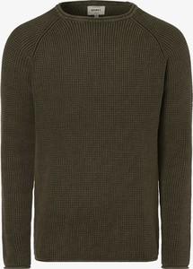 Zielony sweter Redefined Rebel z dzianiny