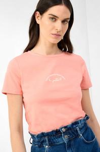 Różowy t-shirt ORSAY z okrągłym dekoltem