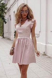 Sukienka Shopaholics Dream z lnu