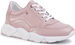 Różowe buty sportowe Wojas