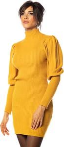 Sukienka Cosy Winter z długim rękawem mini