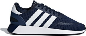 Buty sportowe Adidas sznurowane w sportowym stylu z tkaniny