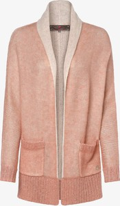 Różowy sweter Lieblingsstück z moheru w stylu casual