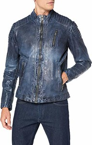 Niebieska kurtka amazon.de w stylu casual
