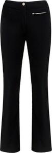 Czarne spodnie sportowe Kelly by Sissy de Monte Carlo z tkaniny