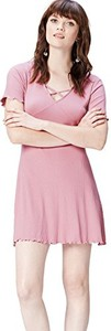 Różowa sukienka amazon.de mini